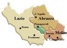 Cartina Abruzzo E Lazio.Atlante Dei Prodotti Tipici Nei Parchi Parco Nazionale D